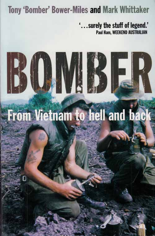 Image for Bomber.  From Vietnam to hell and back.