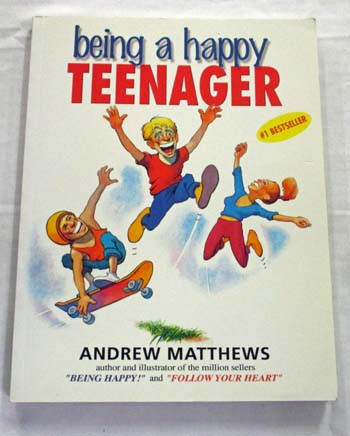 Image for Being a Happy Teenager (inscribed by Author)