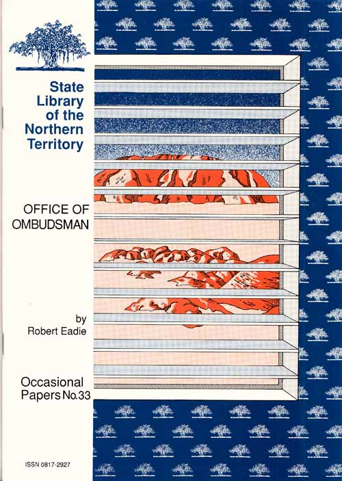 Image for Office of Ombudsman [State Library of the Northern Territory Occasional Papers No 33]
