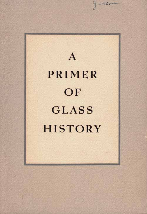 Image for A Primer of Glass History