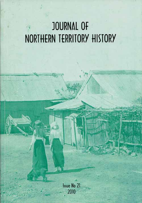 Image for Journal of Northern Territory History issue No 21, 2010