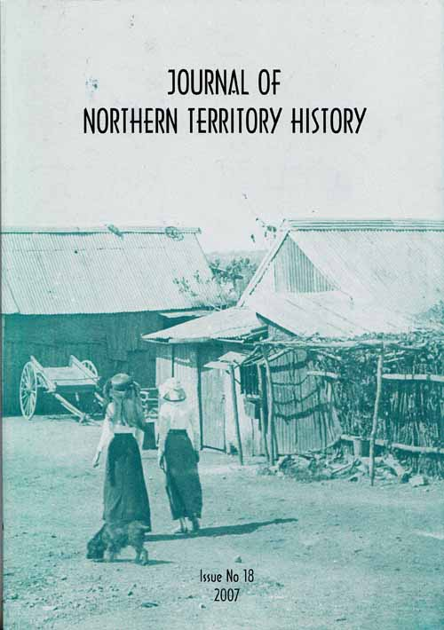 Image for Journal of Northern Territory History issue No 18  2007