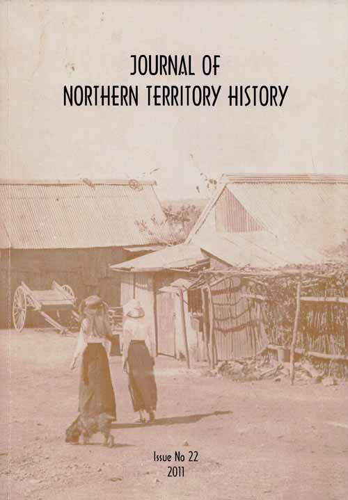 Image for Journal of Northern Territory History issue No 22 2011
