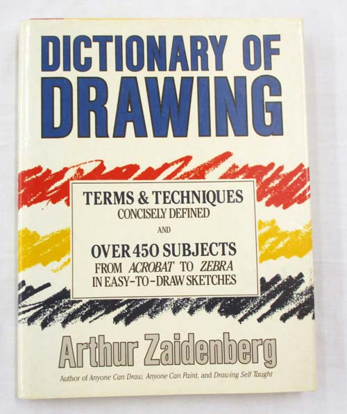 Image for Dictionary of Drawing.