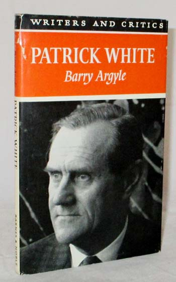 Image for Patrick White  (Writers and Critics Series)