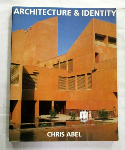 Image for Architecture and Identity Towards a Global Eco-culture