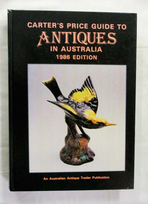 Image for Carter's Price Guide to Antiques in Australia 1986 Edition