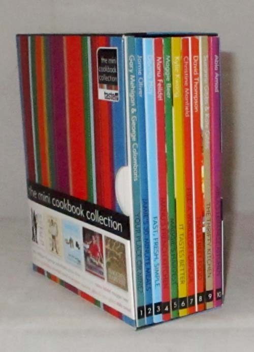Image for The Mini Coookbook Collection (10 books in a slipcase)
