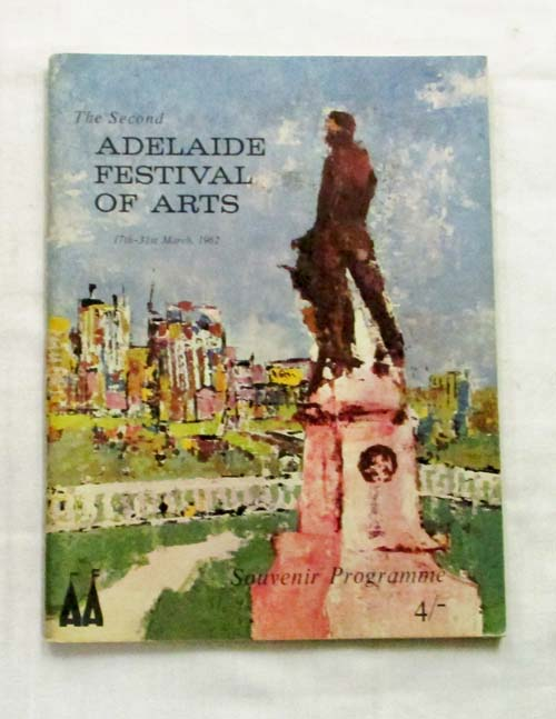 Image for The Second Adelaide Festival of Arts 17th-31st March 1962 Souvenir Programme