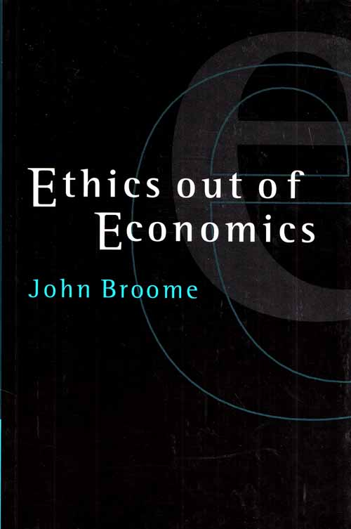 Image for Ethics Out Of Economics