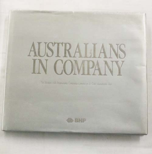 Image for Australians in Company BHP in its 100th Year