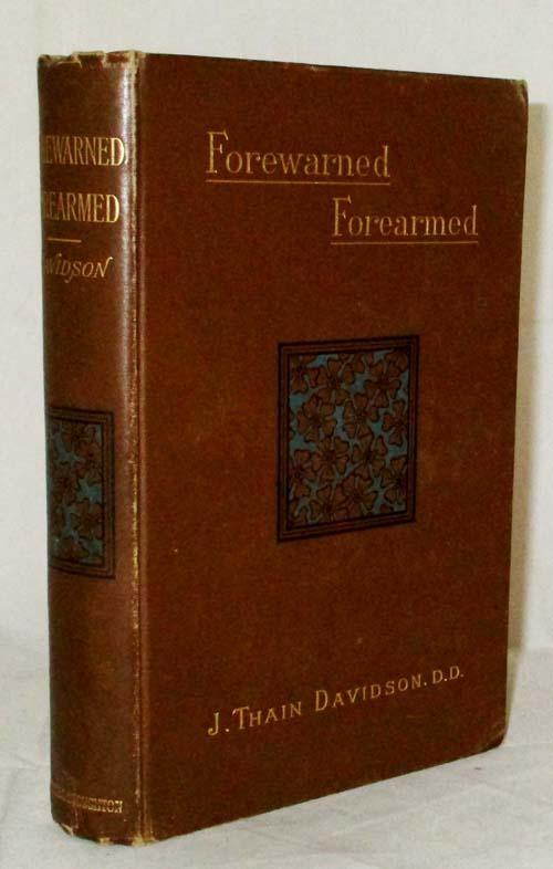 Forewarned-Forearmed
