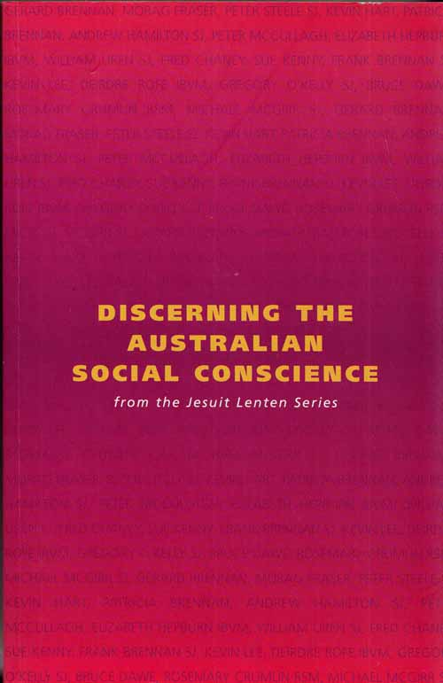 Image for Discerning the Australian Social Conscience from the Jesuit Lenten Series