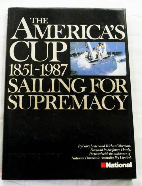 Image for AMERICAS CUP 1851-1987. Sailing for Supremacy