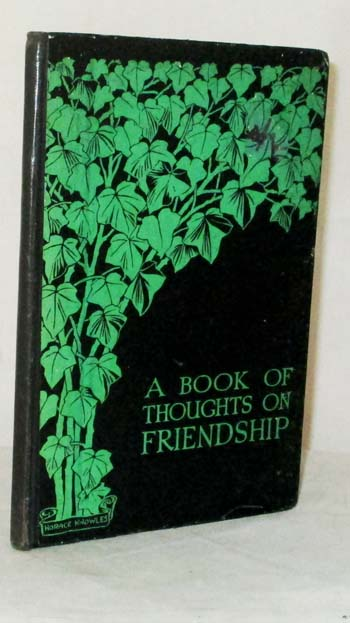 Image for A Book of Thoughts on Friendship