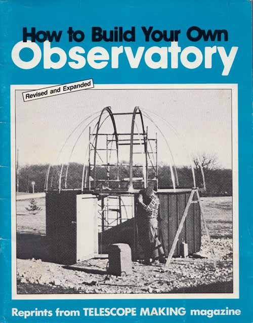 Image for How to Build Your Own Observatory