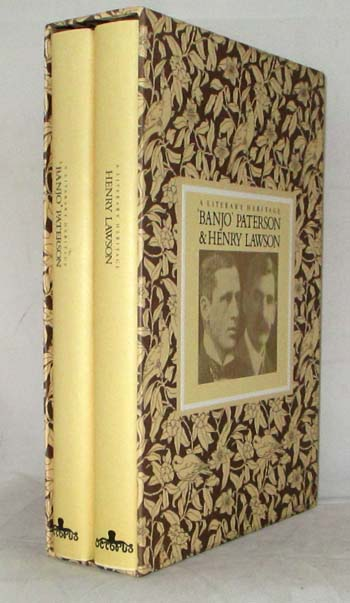 "Image for A Literary Heritage ""Banjo"" Paterson & Henry Lawson [Two Volumes in Slipcase]"