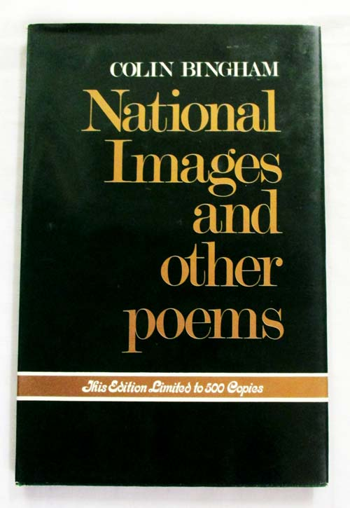Image for National Images and Other Poems (signed by author)