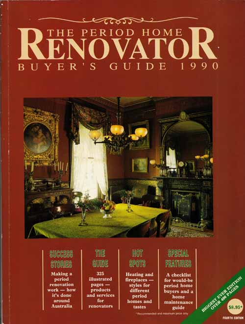 Image for The Period Home Renovator Buyer's Guide 1990