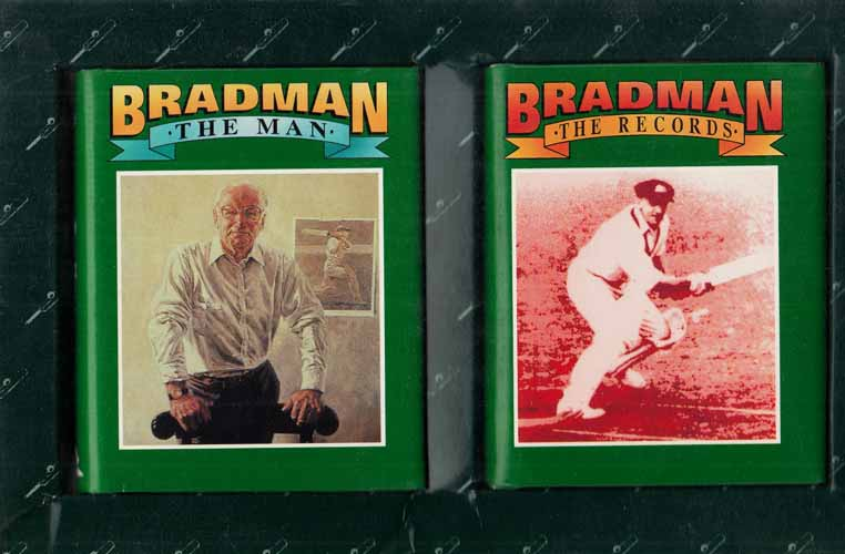 Image for Bradman The Man The Records
