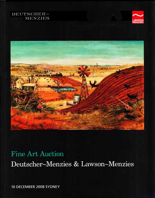 Image for Fine Art Auction [Catalogue].  Auction held in Sydney on 10 December 2008