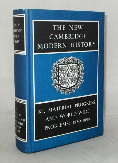Image for The New Cambridge Modern History Vol XI Material Progress and World-Wide Problems 1870-1898
