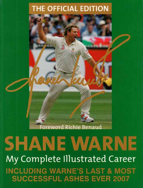 Image for Shane Warne.  My Illustrated Career.