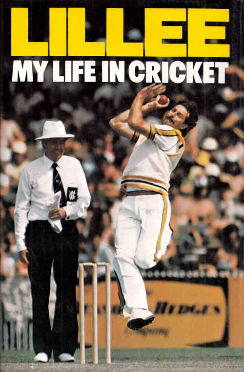 Image for Lillee My Life in Cricket