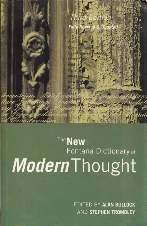 Image for The New Fontana Dictionary of Modern Thought