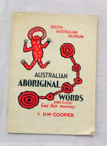 Image for Australian Aboriginal Words and their meanings