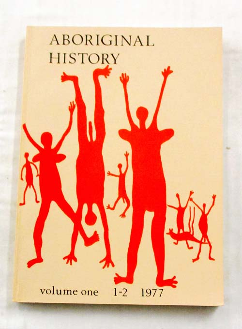 Image for Aboriginal History Volume One 1977 Part I