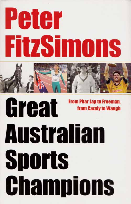 Image for Great Australian Sports Champions