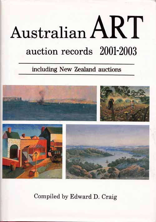Image for Australian Art Auction Records 2001-2003 (Volume 13)