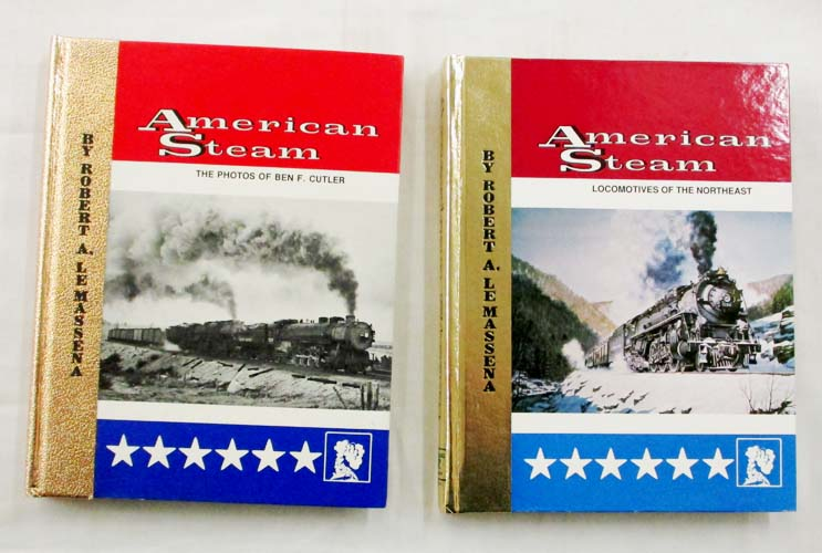 Image for American Steam.  Volumes 1 & 2 [Signed]