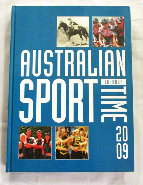 Image for Australian Sport Through Time 2009 Edition