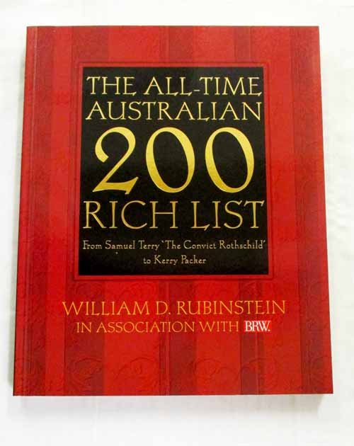 Image for The All-Time Australian 200 Rich List