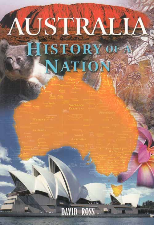 Image for Australia.  History of a Nation.