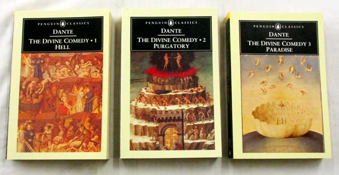 Image for The Comedy of Dante Alighieri The Florentine 3 Volumes 1. Hell, 2.Purgatory, 3. Paradise (The Divine Comedy)