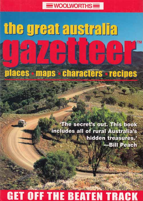Image for The Great Australia Gazetteer