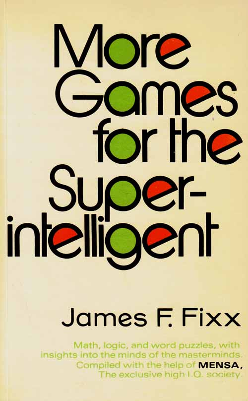 Image for More Games for the Superintelligent