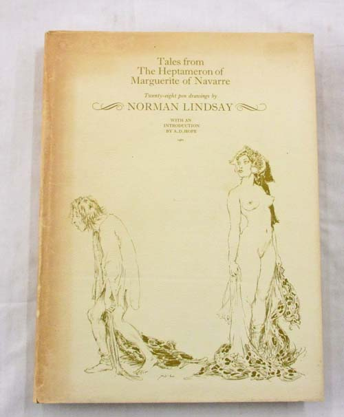 Image for Tales from the Heptameron of Marguerite of Navarre with Twenty Eight Pen Drawings by Norman Lindsay