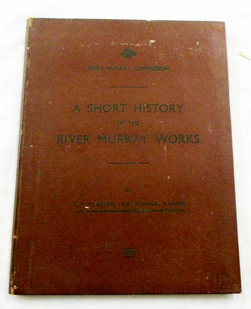 Image for A Short History of the River Murray Works