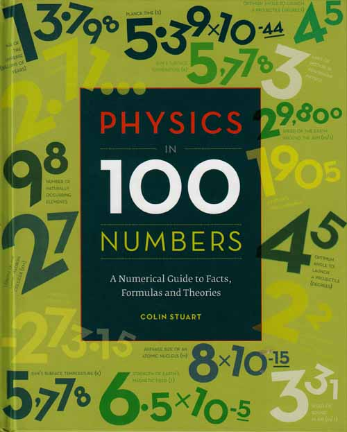 Image for Physics in 100 Numbers.  A Numberical Guide to Facts, Formulas and Theories.