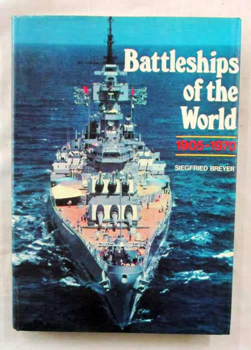 Image for Battleships of the World 1905-1970