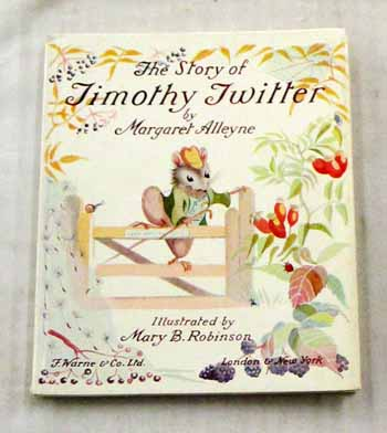 Image for The Story of Timothy Twitter (Prettimouse Series)