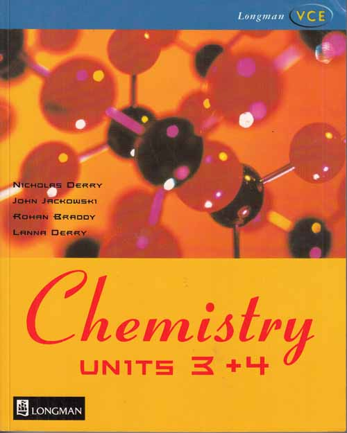 Image for Chemisty Units 3 and 4