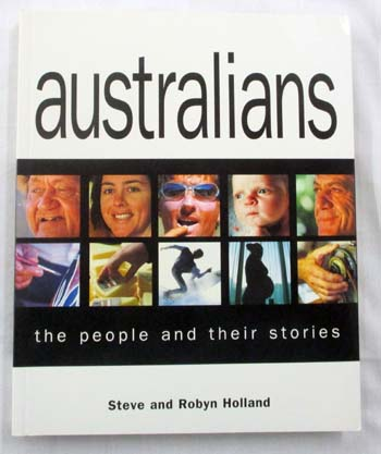 Image for Australians.  The people and their stories