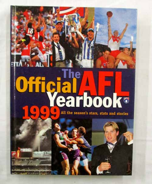 Image for The Official AFL Yearbook 1999