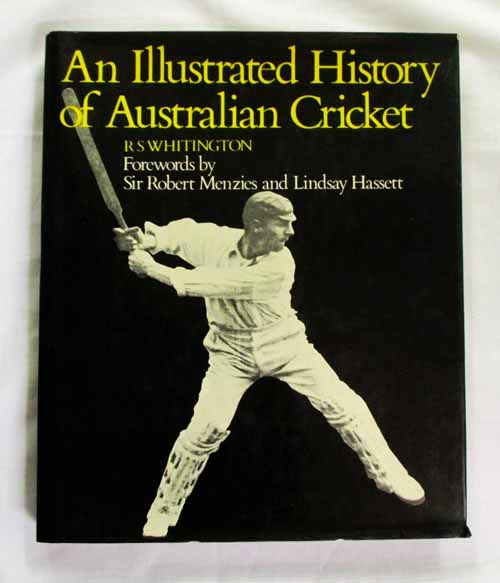 Image for An Illustrated History of Australian Cricket (Inscribed by Ian Chappell)