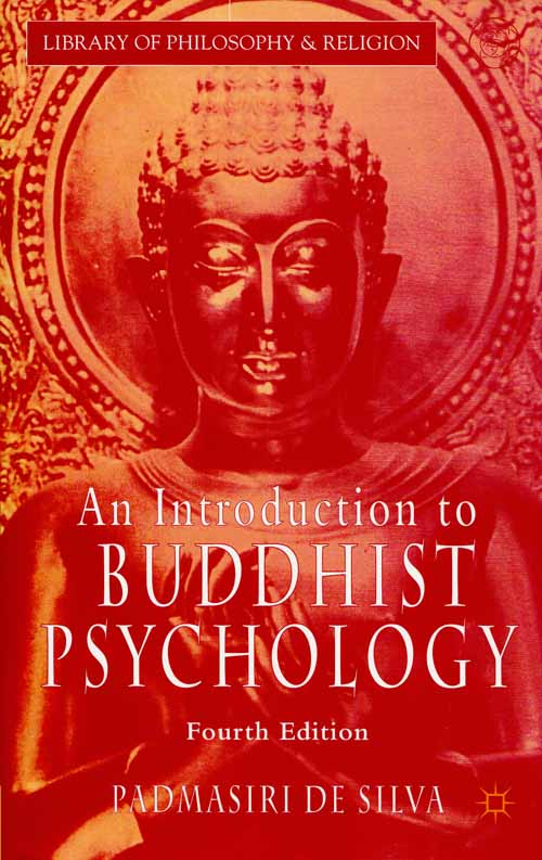 Image for An Introduction to Buddhist Psychology